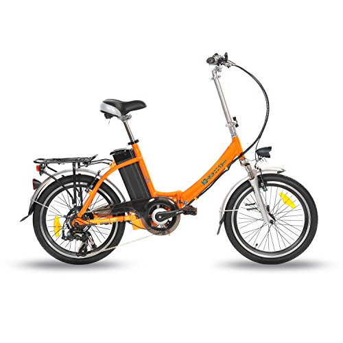 IC ELECTRIC PLUME BICICLETA PLEGABLE  UNISEX ADULTO  NARANJA  UNICA