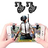 #10: KACOOL Adults and Kid's Triggers Fortnite PUBG Mobile Controller with Gaming Trigger Fire Button Aim Key (FDH202, 2 Pcs)