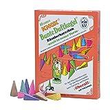 """40 original KNOX räucher candele - colorati spandiprofumo Cono """" design retrò da 5008,88 cm per brucia incenso - recipiente per incenso - campeggio - Party - ovunque - aroma Miscela"""