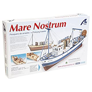 Artesanía Latina 20100-N - Holzmodellboot Fischerboot Mare Nostrum 2016 1/35