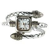 Swiftswan Armbanduhr, Dame Frauen Mädchen Schlange Stil Armreif Armband Quarz Armbanduhr Japanischen Bewegung Quarz