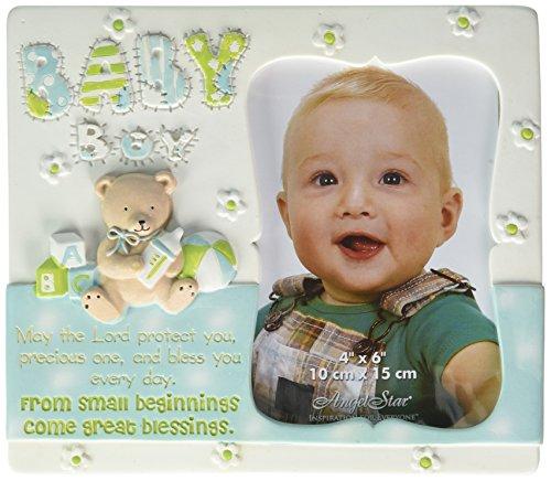 Angelstar 13325Baby Boy Bilderrahmen, 7–3/4von 6–3/4-Zoll