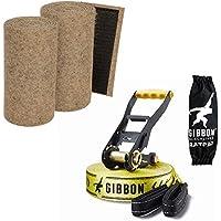 "SLACKWEAR Slackline Set with ""SafetyTree"" Tree Protection Beige + Classic Line X13 from Gibbon Slacklines"