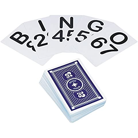 Jumbo Bingo Calling Cards (set of 75) by S&S Worldwide