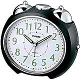 Casio TQ-369-1EF - Reloj despertador (analógico, cuarzo, alarma repetitiva, luz LED)