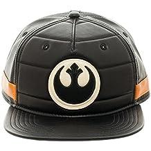 Star Wars Black Squadron Rebel Logo PU Snapback Casquette de Baseball e8661720b3f