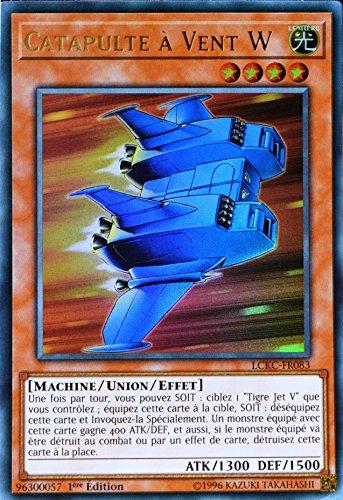 carte Yu-Gi-Oh LCKC-FR083 Catapulte à Vent W
