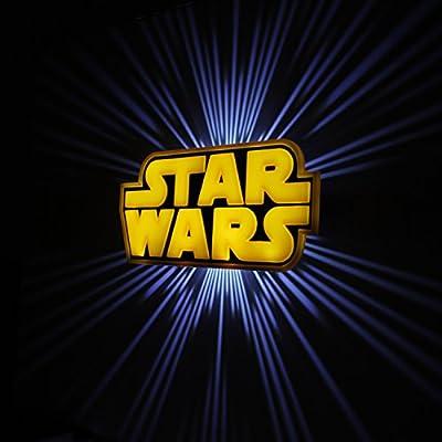 Star Wars Logo 3d Wall Deco Light