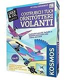 Giochi Uniti Kosmos GU599 - Costruisci i Tuoi Ornitotteri Volanti, Versione Italiana