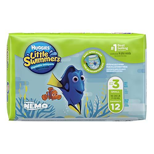 Huggies 12 Little Swimmers – Schwimmwindeln, 2er Pack (2 x 12 Stück) - 3
