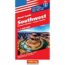 Hallwag USA Southwest: Road Guide Southern Rockies, Canyon Country