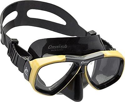 Cressi Focus - Gafas de buceo (posibilidad de acoplar cristales graduados)