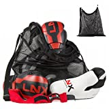 LNX Mesh Bag Tasche XL Netzbeutel - Ideal für Sportler mit viel Ausrüstung - XXL Sporttasche...