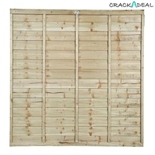 wooden-lap-fence-panels-treated-timber-18m-x-18m-6ft-x-6ft-free-delivery-above-50