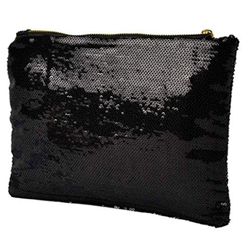 Gemini_mall Clutches, schwarz (schwarz) - 9S2355496PLCG5412 schwarz
