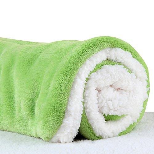 Micat® Super Soft Fleece-Haustier-Bett Bettdecken Welpen-Hundekatze Kissen Mats Vary von 9 Arten von Designs (XL:100*75cm, 005)