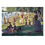 Famous Paintings Puzzle 1000 Piece Jigsaw Puzzle, Relaxed Afternoon