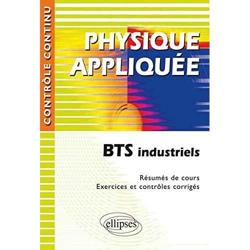 Physique appliquée BTS industriels
