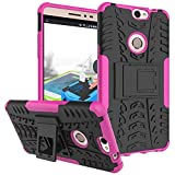 Coolpad Max Hülle, CaseFirst Stoßfest Hybrid Combo Handytasche Anti-kratzer TPU + PC 2 in 1 Handyhülle Anti-Rutsch Schutzhülle Schutz Shockproof Case Cover (Pink)