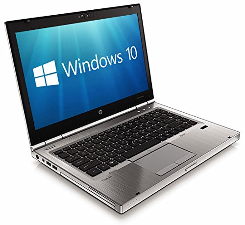 HP EliteBook 8470p Core i5-3320M 8GB 128GB SSD WebCam USB 3.0 Windows 10 Professional 64-bit (Certified Refurbished)