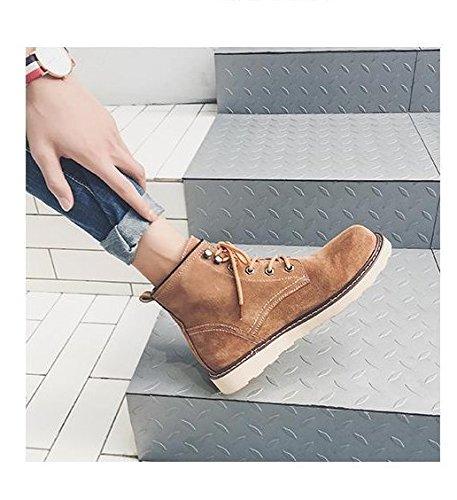 Hl-pyl-bottes, Bottes, Bottes, Chaussures, Bottes, Chaussures Et Bottes Bottes Pour Hommes, Bottes De Travail Version Coréenne Camel