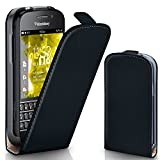 OneFlow PREMIUM - Flip-Case - per BlackBerry Q10 - DEEP-BLACK