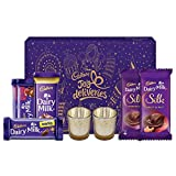 #3: Cadbury Assorted Chocolates Diwali Gift Pack, 275g - With Glass Diyas Inside