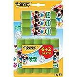 BIC Stick Ecolution Pack de 8 Colles Décorée
