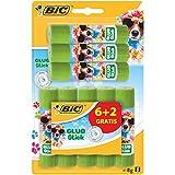 Bic Stick Ecolution - Pack de 8 Colles Décorées - 8g