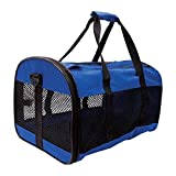 Pet Carrier Collapsible Small Cat Dog Rabbit Travel Vet Puppy Portable Crate.