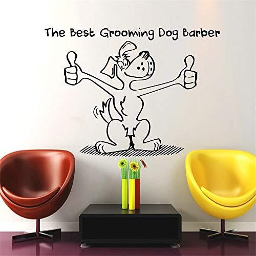 Wandtattoo Kinderzimmer Hundepflege Salon Pet Shop Aufkleber Decal Poster Wall Art Decals Parede Decor für Haustier Salon Pet Shop -