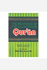 The Meanings of the Illustrious Qur'an Paperback