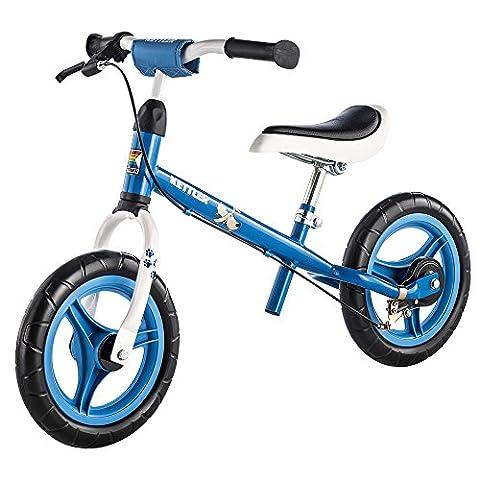 """Kettler Laufrad Speedy """"Waldi"""" 2.0 – Farbe: Blau – Reifengröße: 12,5 Zoll, ab 2 Jahren geeignet – das ideale Lauflernrad – maximale Sicherheit – Artikelnummer:"""