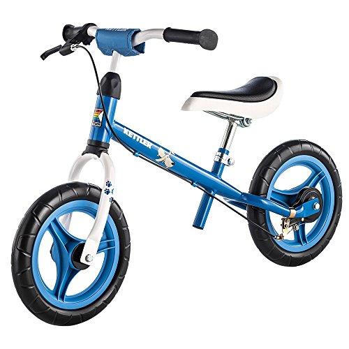 Kettler Laufrad Speedy Waldi 2.0 - das ideale Lauflernrad - Kinderlaufrad mit Reifengrö&szlige: 12,5 Zoll - stabiles & sicheres Laufrad ab 3 Jahren - blau & weiß