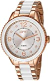 Esprit Marin Lucent Women's Quartz Watch with Silver Dial Analogue Display and Rose Gold