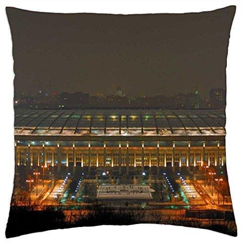 """Luzhniki Stadium Moscow - Throw Pillow Cover Case (16"""" x 16"""")"""