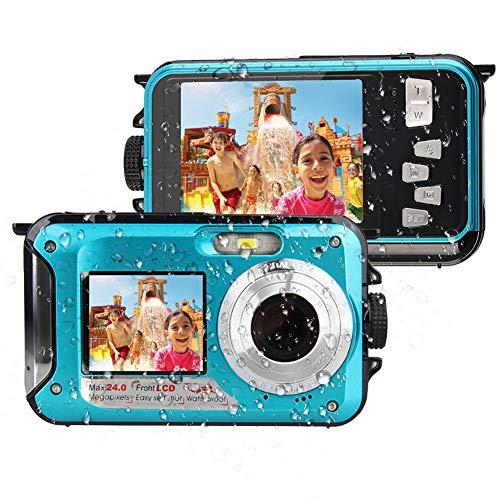 Video instructivo de cámara digital a prueba de agua en You-tube: http://u6.gg/d3x2g.  Si desea obtener más información, puede ponerse en contacto con nuestro equipo de servicio al cliente, elegir el vendedor de LongOu trade y elegir: hacer una pregu...