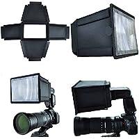 CameraPlus - Flash Multiplier Extender für Nikon Speedlight SB-28, Sony HVL-F42AM, Metz 52 AF-1, 44AF-4iN, 48AF-1, 32 Z-2, Canon Speedlite 320EX, 420EX, 430EX, Olympus FL-36RI (Universal-Small)