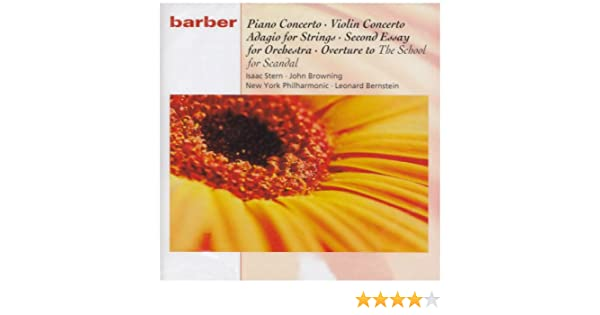 The Beauty of Barber by Baltimore Symphony Orchestra on Apple Music Samuel Barber  Second Essay for Orchestra  Op       Leonard Slatkin   conductor   YouTube