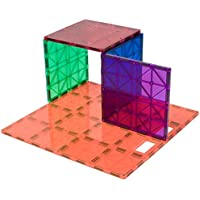 Playmags 172 One 12 x 12-Inch and Four 6 x 6-Inch Super Durable Building Stabilizer Set