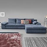Moebella Ecksofa mit Schlaffunktion und Bettkasten XXL Baldo Designer Schlafcouch Sofa Bettfunktion (Standard)