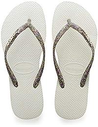 b3bd6716c279 Amazon.co.uk  Silver - Flip Flops   Thongs   Women s Shoes  Shoes   Bags