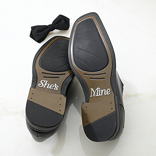 shes-mine-shoe-stickers-great-wedding-favours-birthday-giftsbaby-shower-presents-christmas-stocking-