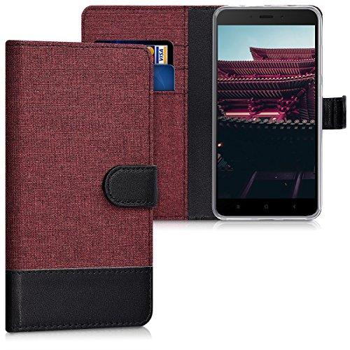 kwmobile Xiaomi Redmi Note 4 / Note 4X Hülle - Kunstleder Wallet Case für Xiaomi Redmi Note 4 / Note 4X mit Kartenfächern und Stand - Handyhüllen (Xiaomi, Redmi Note 4/Note 4X)