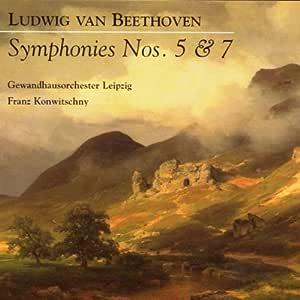 Symphonies Nos. 5 & 7 - Konwitschny, Franz, Gol, Beethoven, Ludwig Van:  Amazon.de: Musik
