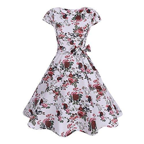 Spitze Kleid Damen Cocktailkleid Festlich Partykleid A Linie Lange Ärmel Knielang Jumpsuit Kurz Ballkleid Kleiderbügel Damenkleider Kurz Hepburn Kleid