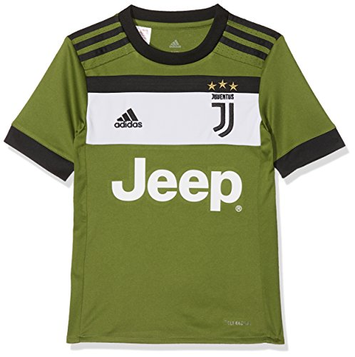 Adidas 2017-2018 juventus third football soccer t-shirt maglia (kids)