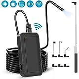 Endoscope WiFi, Caméra d'inspection Endoscopique Industrielle - Caméra Serpent Endoscopique pour Android, iPhone, iPad…