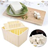SOLEDI 1 Set Plastic DIY Soybean Curd Tofu Press Maker Mold Box With Plate Handmade Tofu Making Machine Kitchen Cooking Tools