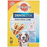Pedigree Dentastix Premios para Perros Medianos - Paquete de 4 x 180 gr - Total: 720 gr